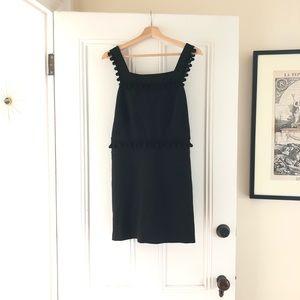 Zara Black Pom Pom Jumper Dress